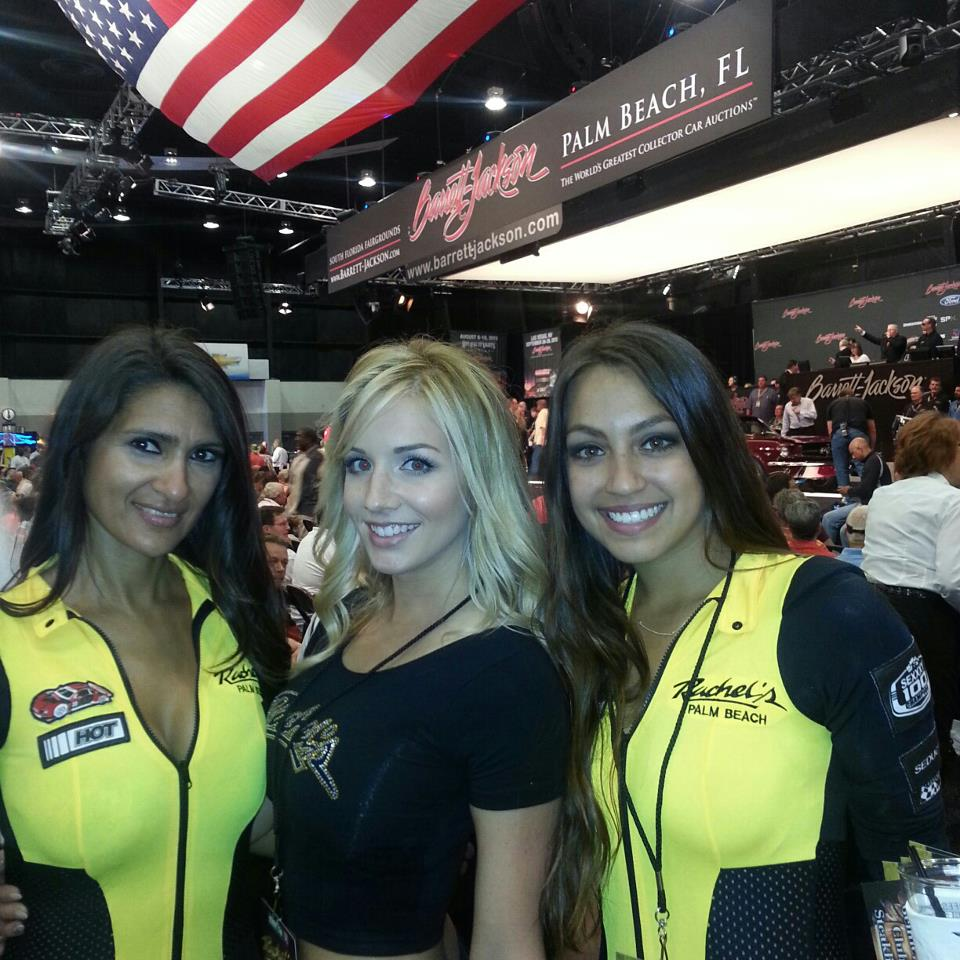 Barrett Jackson Auto Auction Palm Beach, Florida